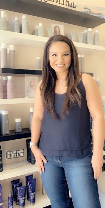 Candice Alexander owner of Candice's Hair Studio